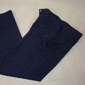Pants - **Evan Picone Womens Pants Career Navy Blue StripE